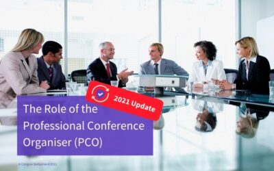 The Role of the Professional Conference Organiser (Core PCO) [2021 updated version]