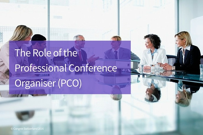 The Role of the Professional Conference Organiser (Core PCO)