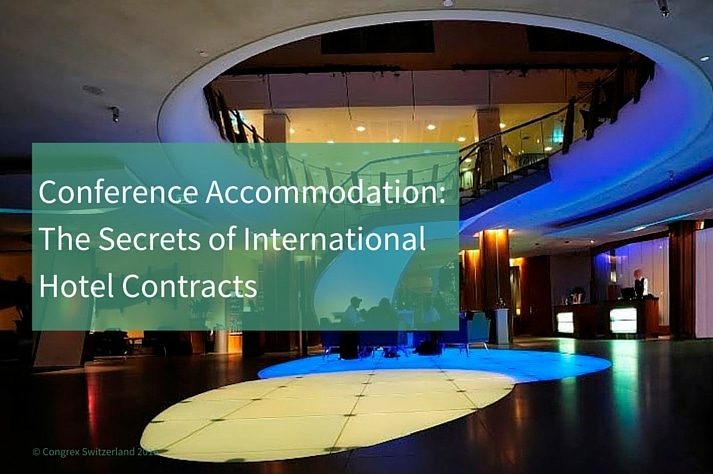 Conference Accommodation, how to make sure you book the right hotel with the right conditions?