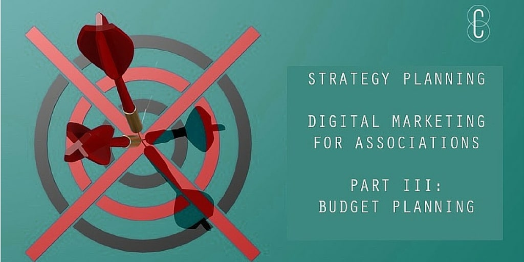 Strategy Planning - DiMa for Assn - Part 3 Budget Planning