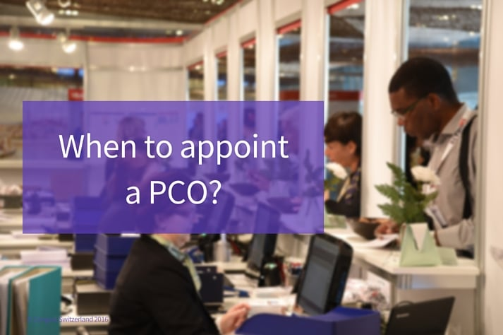 Appoint a PCO - Professional Conference Organizer
