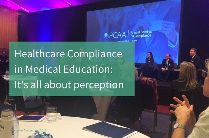 Healthcare Compliance in Medical Education: It's all about perception?