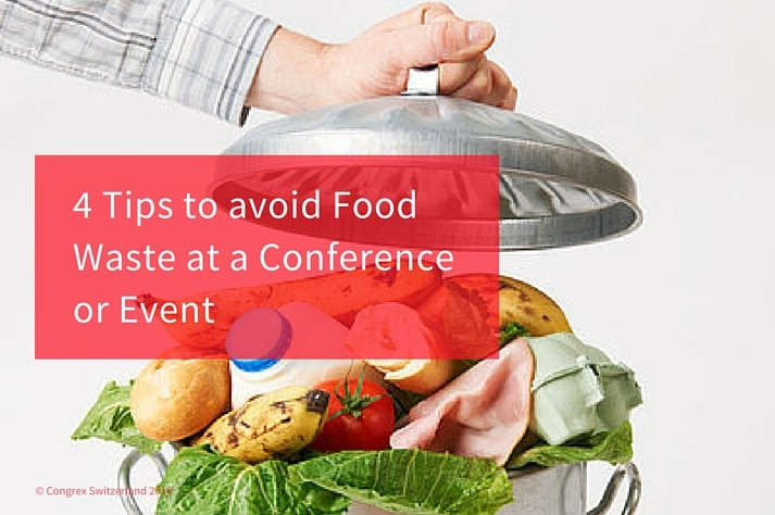 avoid food waste at a conference