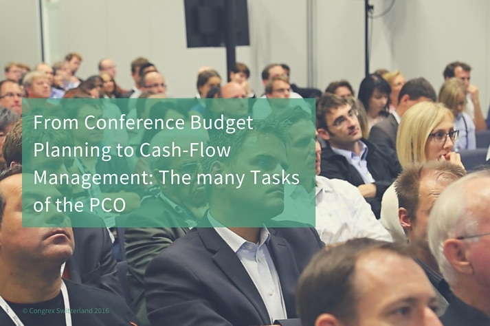 From Conference Budget Planning to Cash-Flow Management: The many Tasks of the PCO
