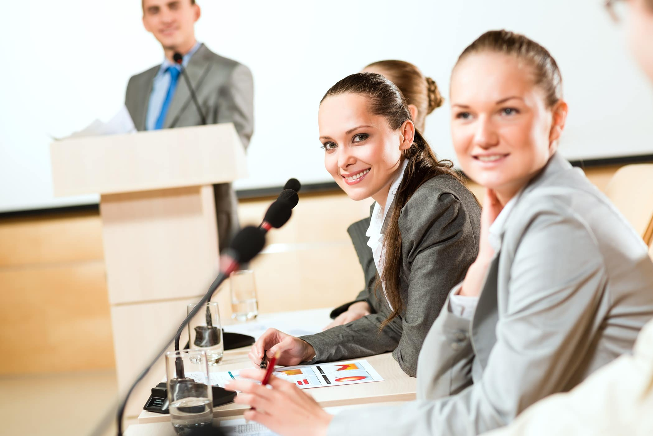 • Achieve memorable conferences<br/>•  Host happy participants <br/>•  Reach membership engagement