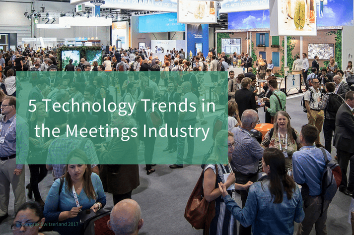 5 Technology Trends in the Meetings Industry