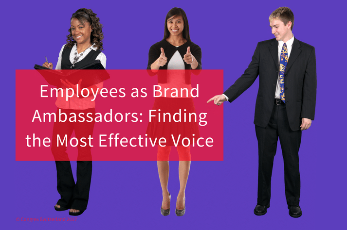 Employees as Brand Ambassadors: Finding the Most Effective Voice