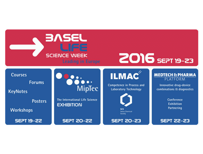 Basel Life Science Week and Miptec Exhibition 2016