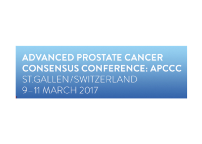 Advanced Prostate Cancer Consensus Conference (APCCC) 2017