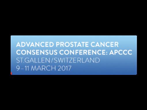 Advanced Prostate Cancer Consensus Conference (APCCC) 2017