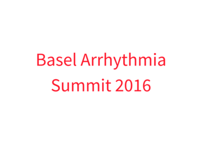Basel Arrhythmia Summit 2016