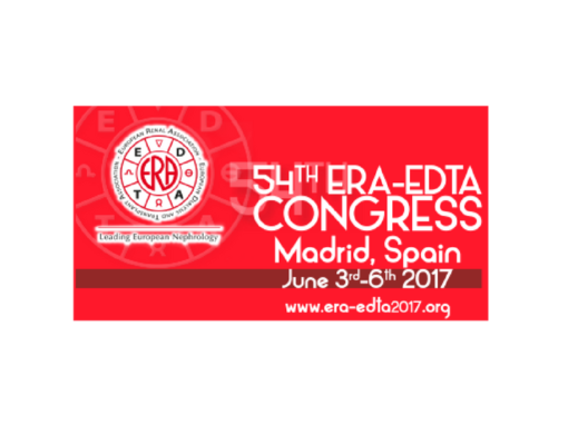 54th ERA-EDTA Congress 2017