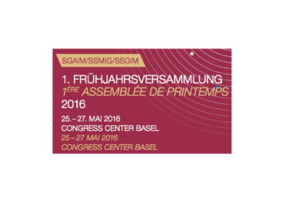 SGAIM 2016 – 1st Spring Meeting of the Swiss Society of General Internal Medicine