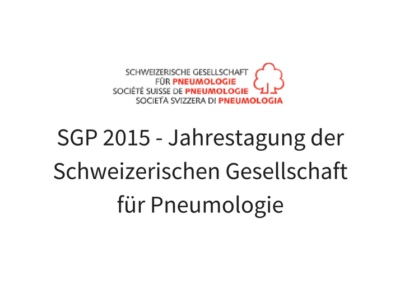 SGP - Swiss Society for Pulmonology - Congrex Switzerland