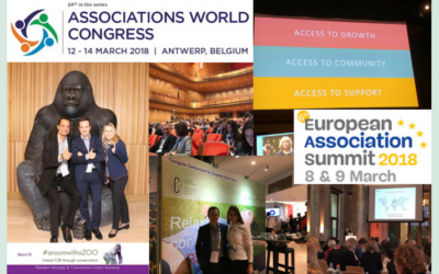 Busy weeks for association executives: European Association Summit and Associations World Congress