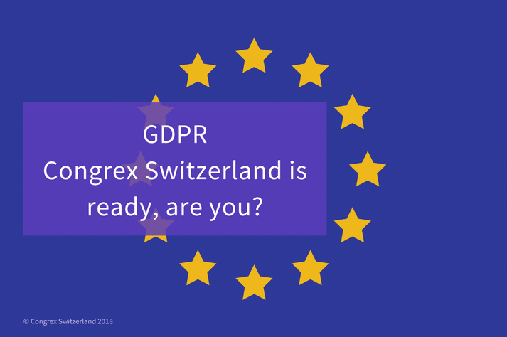GDPR Congrex Switzerland