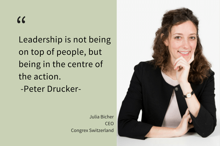 Leadership: Interview with Julia Bicher as new CEO