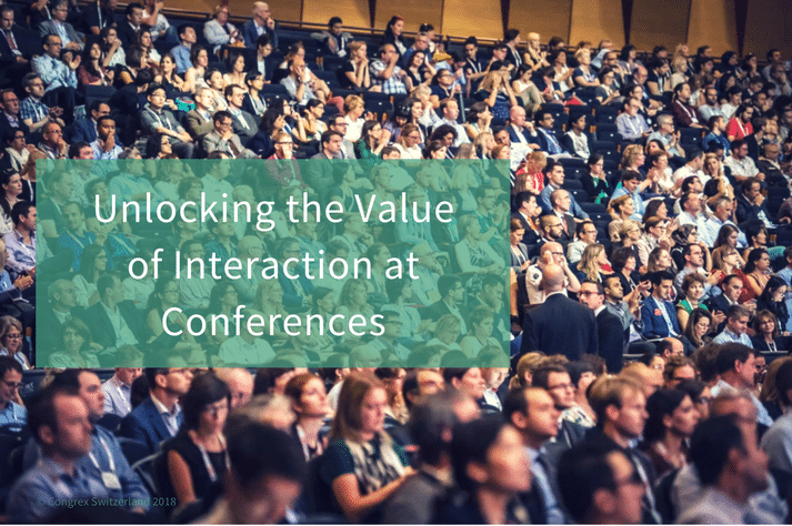 Interaction at Conferences