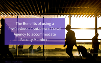 The Benefits of using a Professional Conference Travel Agency to accommodate Faculty Members