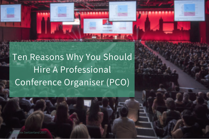 Image to the blog: Ten Reasons Why You Should Hire A Professional Conference Organizer (PCO)