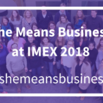 She Means Business at EduMonday at IMEX 2018