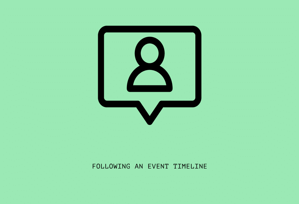 following an event timeline conference planning