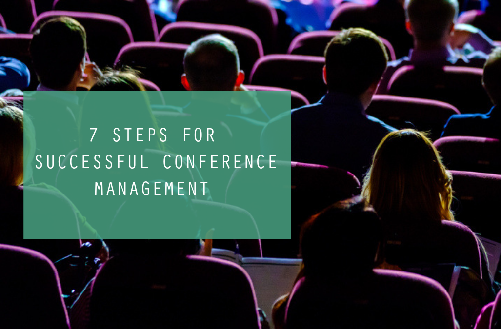 7 Steps For Successful Conference Management