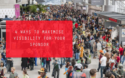 4 Ways to Maximise Visibility For Your Sponsor
