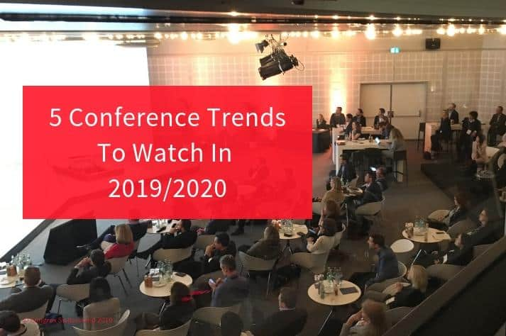 title image for blog conference trends to watch
