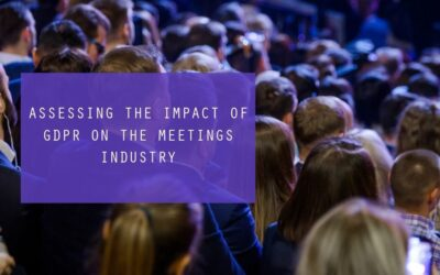 Assessing The Impact Of GDPR On The Meetings Industry