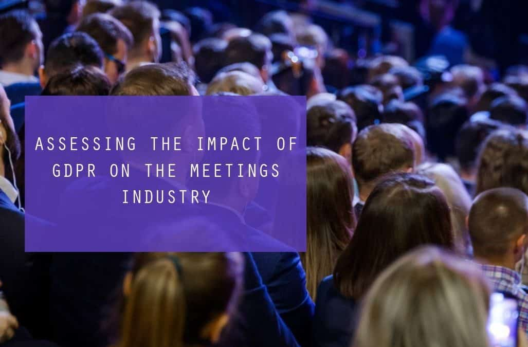 GDPR in the meeting industry