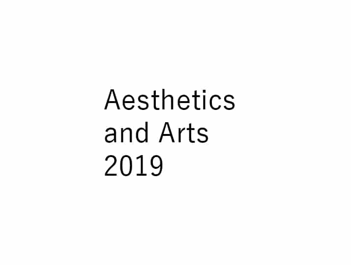 Aesthetics and Arts 2019