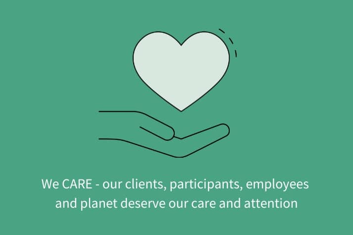 Our Core Values: CARE