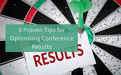 Five Proven Tips for Optimising Conference Results