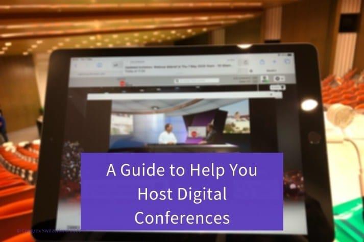 Blog Image Host Digital Conferences