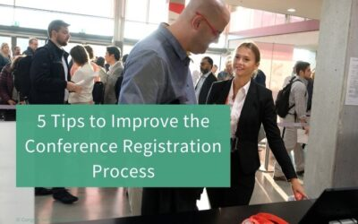 5 Tips to Improve the Conference Registration Process