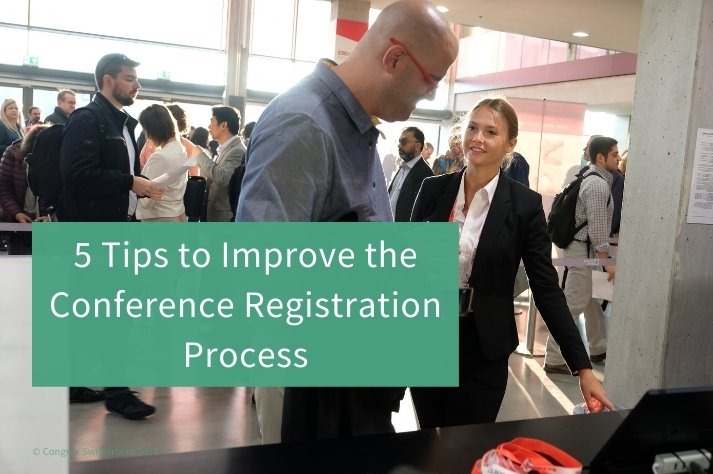 conference registration process