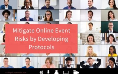 Mitigate Online Event Risks by Developing Protocols