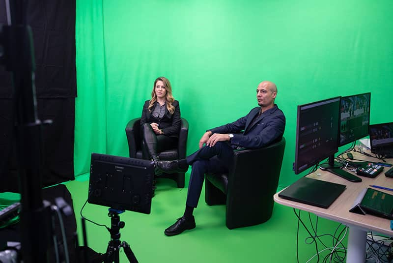 Green-Screen Studio