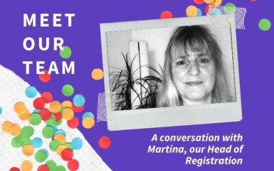 Meet Our Team: Martina Mutter (Head of Registration)