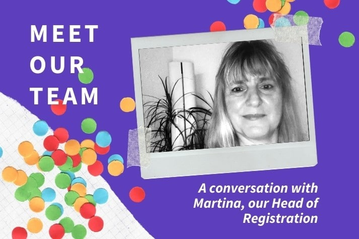 Image card for the meet our team series: Martina Mutter