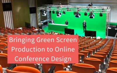 Bringing Green Screen Production to Online Conference Design
