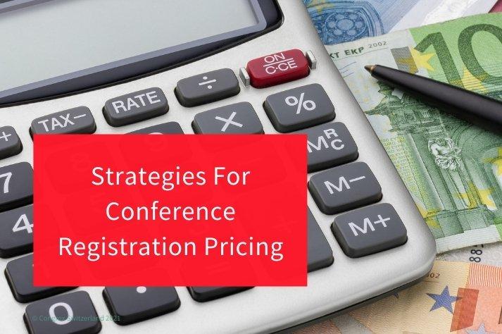 Conference Registration Pricing